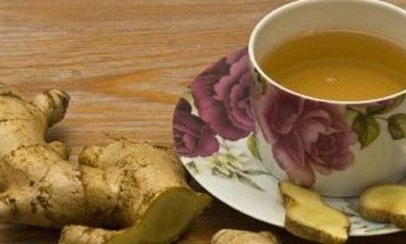 Delicioso té de jengibre