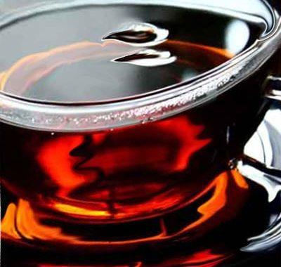 Infusión de té negro