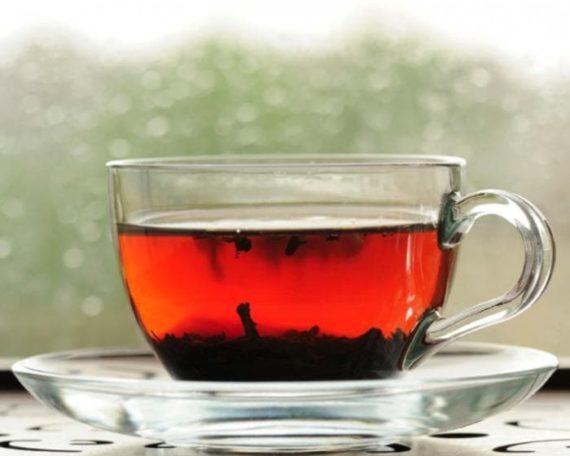Infusión de té rojo
